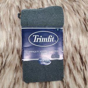 3/$20 TRIMFIT Tall Opaque Nylon-Spandex Tights